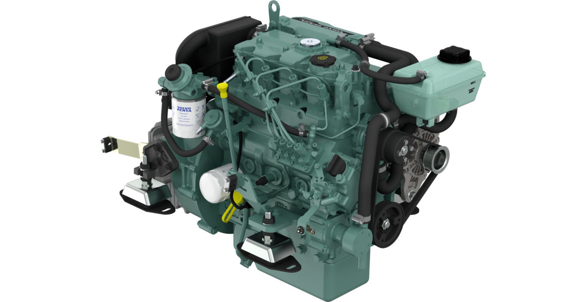 volvo penta d2 40 marine diesel engine 40hp french marine motors ltd rh frenchmarine com Volvo Penta Lower Unit Volvo Penta Parts