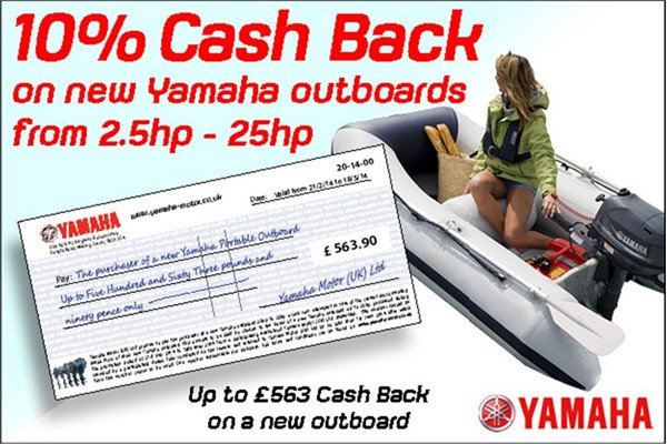Yamaha 10 cash back on new outboards for Winterizing yamaha 300 outboard