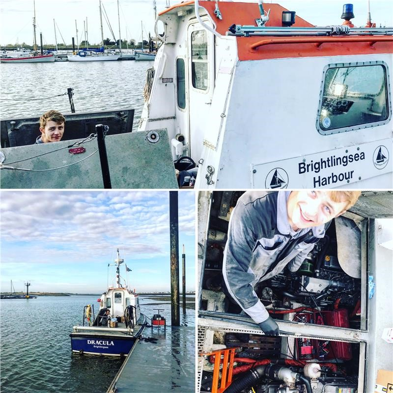 Service On A Yanmar 4LH-HTE And A 4LHA