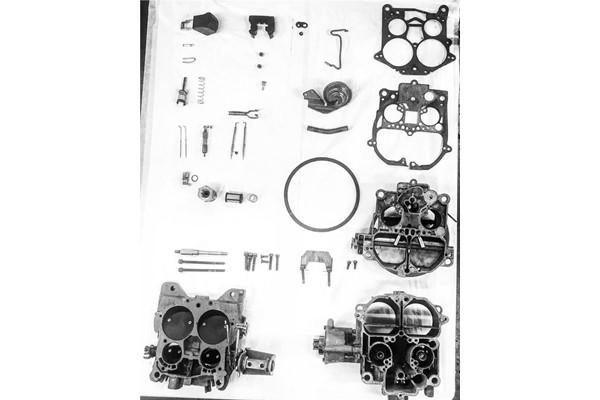 Volvo Penta AQ205 V6 Engine Carb Deep Clean