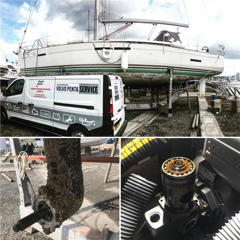 A Jeanneau Sun Odyssey With A Yanmar 4JHSE And A SD50 Saildrive Has A Missing Propeller
