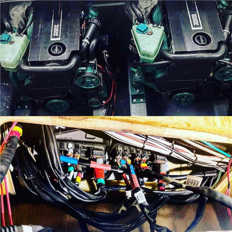 Volvo Penta D3-190 Conversion From Petrol to Diesel