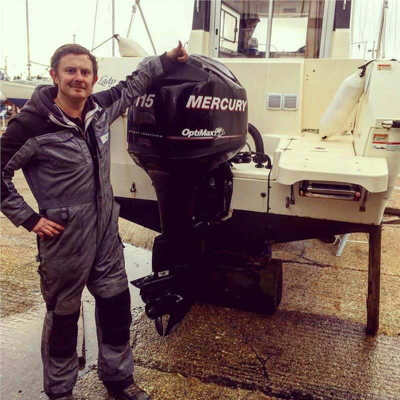 Mercury Optimax 115hp Outboard Service