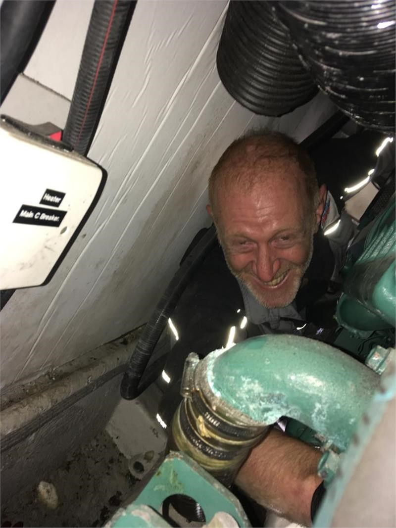 Changing A Water Pump Impeller On A Volvo Penta TAMD74 EDC