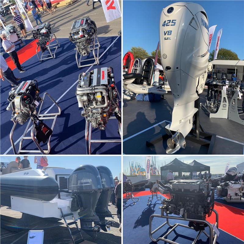 Southampton Boat Show 2019  EP Barrus Yanmar Stand