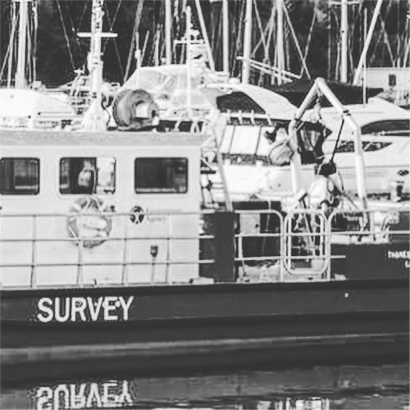 Survey vessel with Yanmar 6LY2A-STP Engines