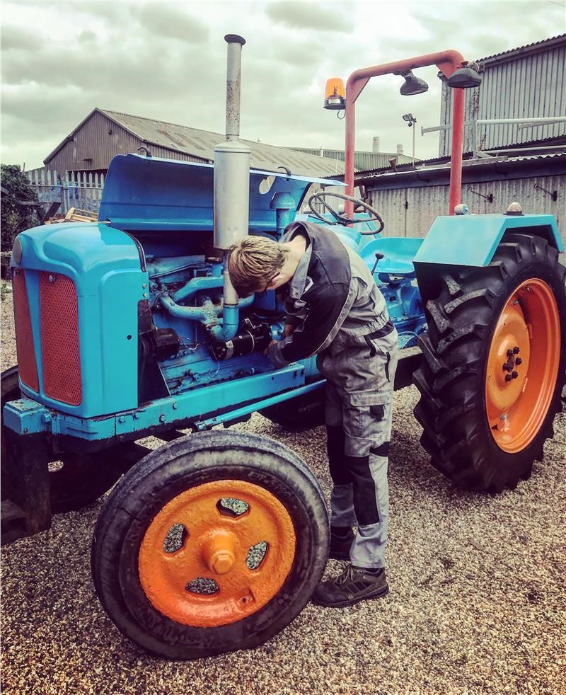 Ross And Our 1953 Fordson Major Tractor