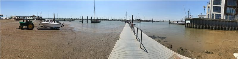 Low tide at Brightlingsea