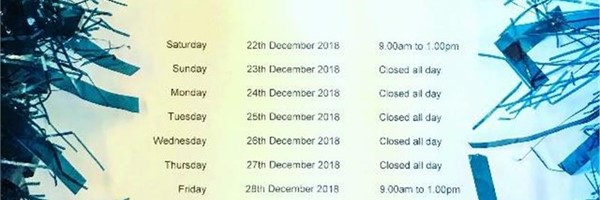 Brightlingsea Chandlery And Parts Christmas Opening Hours