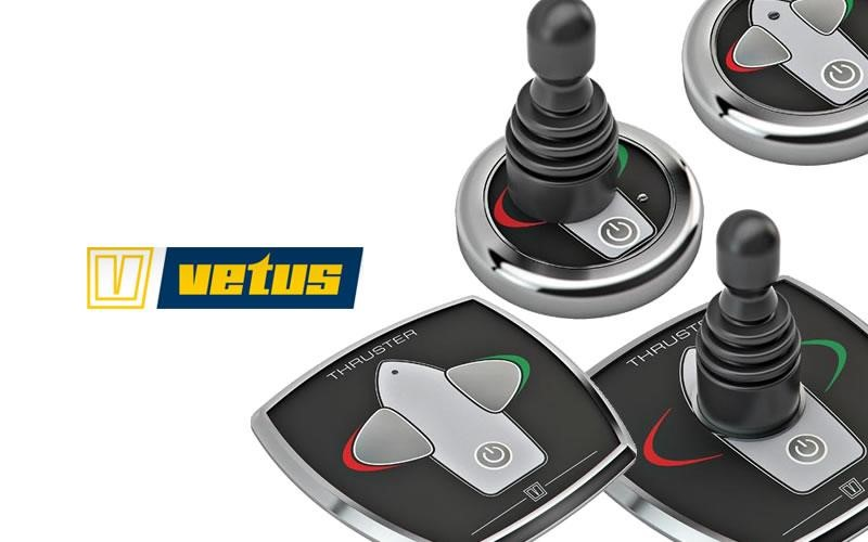 New VETUS bow thruster controls now available