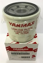 Marine engine filters and pre-filters from Yanmar - French