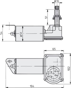Long drive spindle dimensions