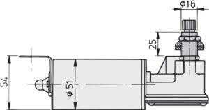 RWS short spindle dimensions