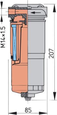 WS180 Dimensions