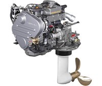 Yanmar 3JH5-E marine diesel engine 39 hp - French Marine