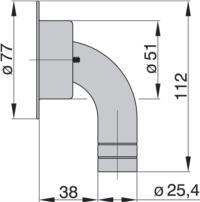 AB25B dimensions
