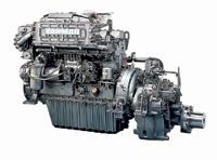 Yanmar 6CH-DTE3 marine diesel engine 210 - 230hp M.L-Rating