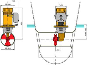BOW 75 kgf vetus 75kgf bow thruster (12 and 24 volt d c ) french marine vetus bow thruster wiring diagram at crackthecode.co