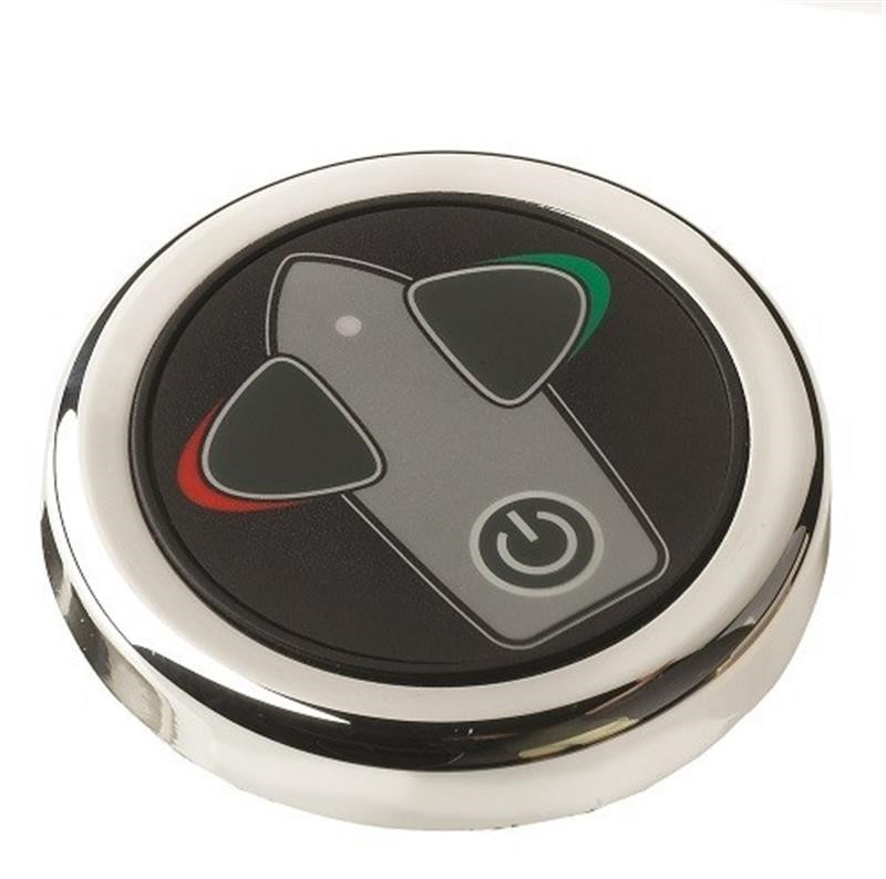 Vetus Round Retractable Bow Thruster Touch Panel With Time Delay, Built in 52mm, 12/24V, BPSRC