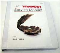Yanmar Diesel Outboard D27 / 36 EPB5564 Service Manual - French