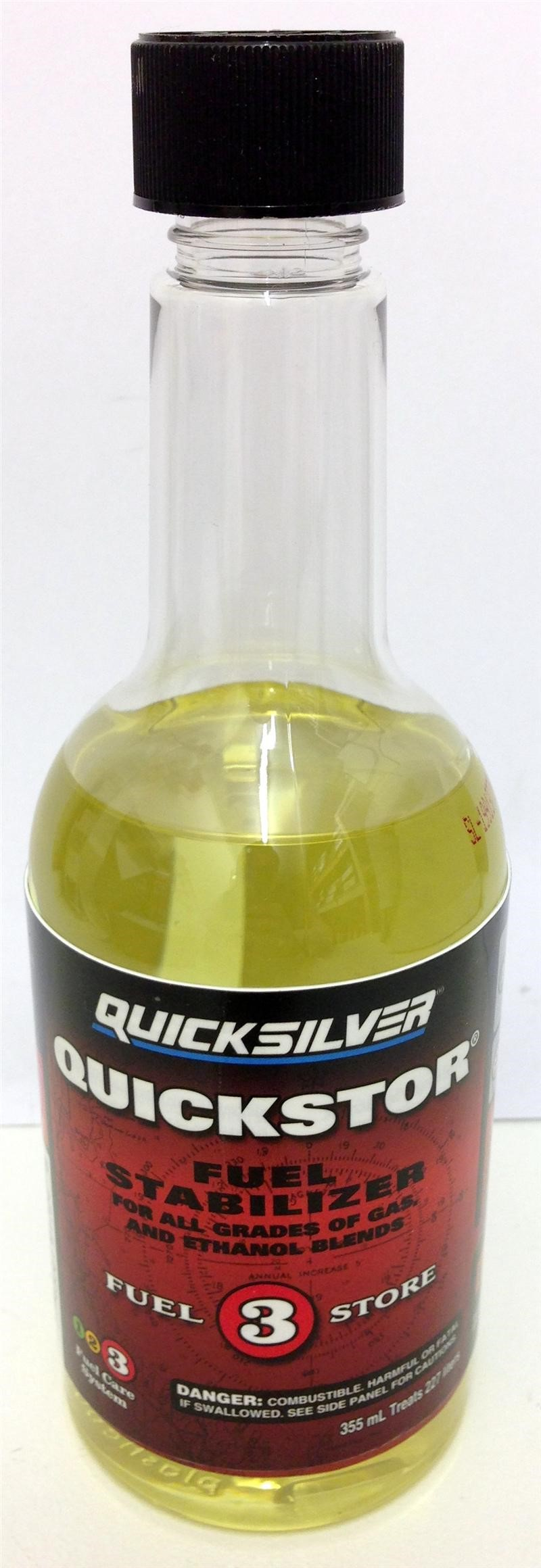 Quicksilver Quickstor Fuel Stabilizer 92 8m0079745 355ml