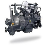 Yanmar 2GMY commercial marine diesel engine 12hp - French