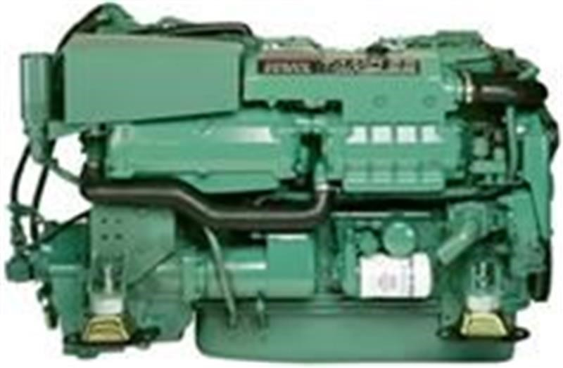 1 Volvo Penta Tamd 63L marine engines 235 hp at 2500 rpm  with PRM 601 2-1 reduction gearboxes