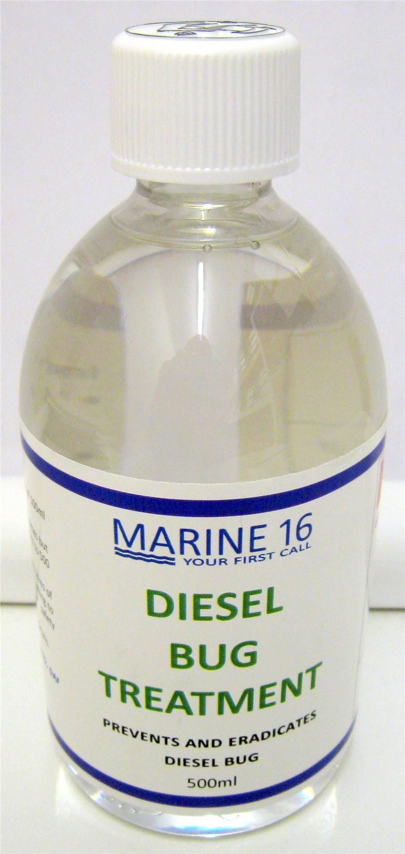 Marine 16 Diesel Bug Treatment 500ml Bottle