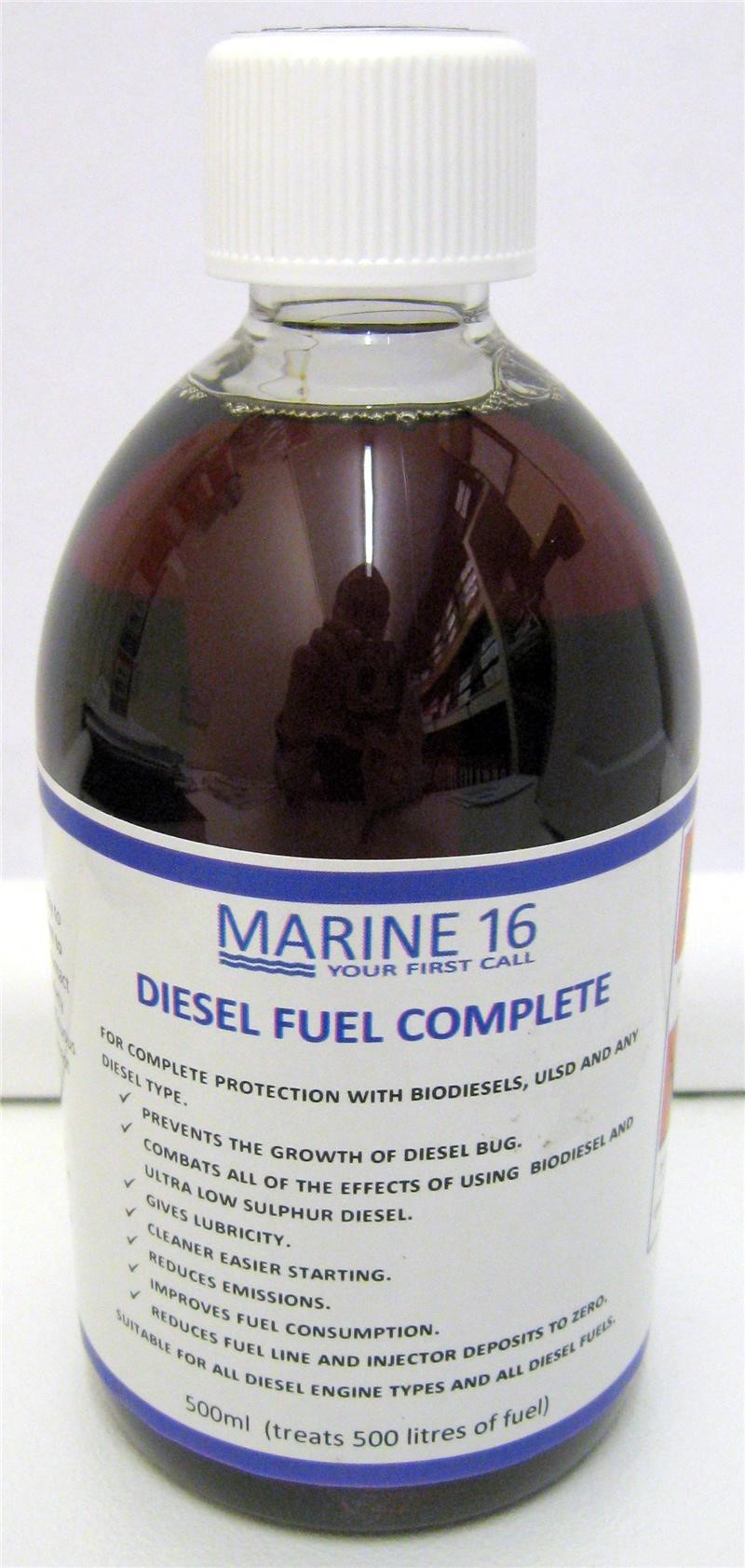 Marine 16 Diesel Fuel Complete 500ml Bottle