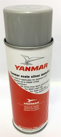 Yanmar Paint 004 Silver Metallic Touch Up Paint French
