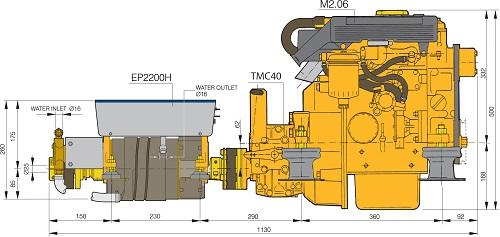 vetus electric drive ep2200 french marine motors ltd rh frenchmarine com Vetus Pod Tools Vetus Fuel Theft Device